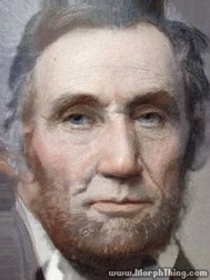 george washington abraham lincoln morph