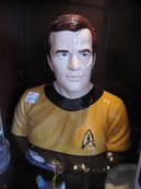 james t. kirk cookie jar