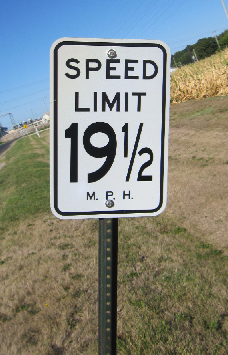 speed limit 19-1/2