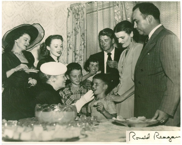 cast of 1950s film Louisa, Ronald Reagan